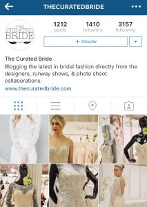The Curated Bride Instagram