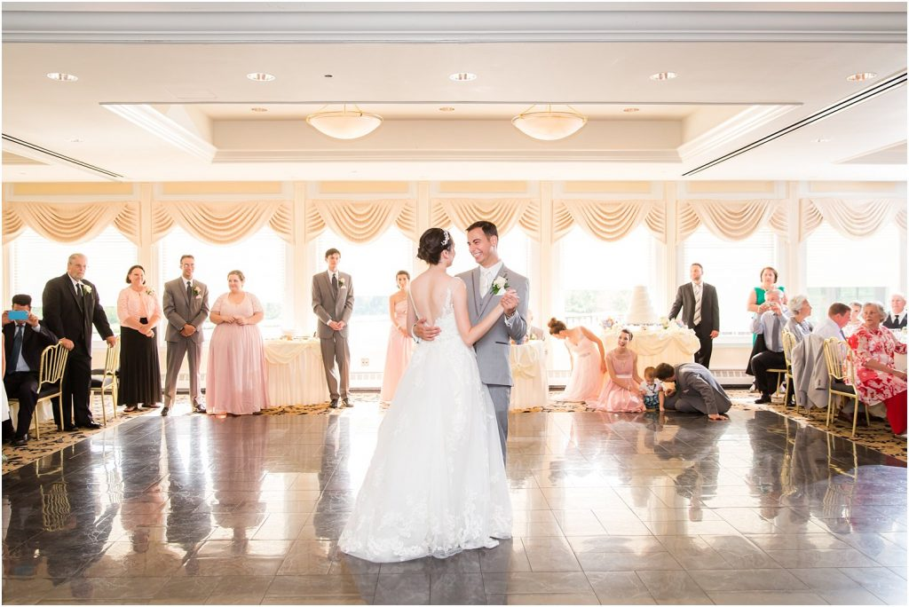 Katherine and Christopher First Dance at Mill Lakeside Manor