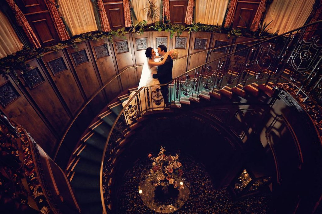 The Manor - Wedding staircase